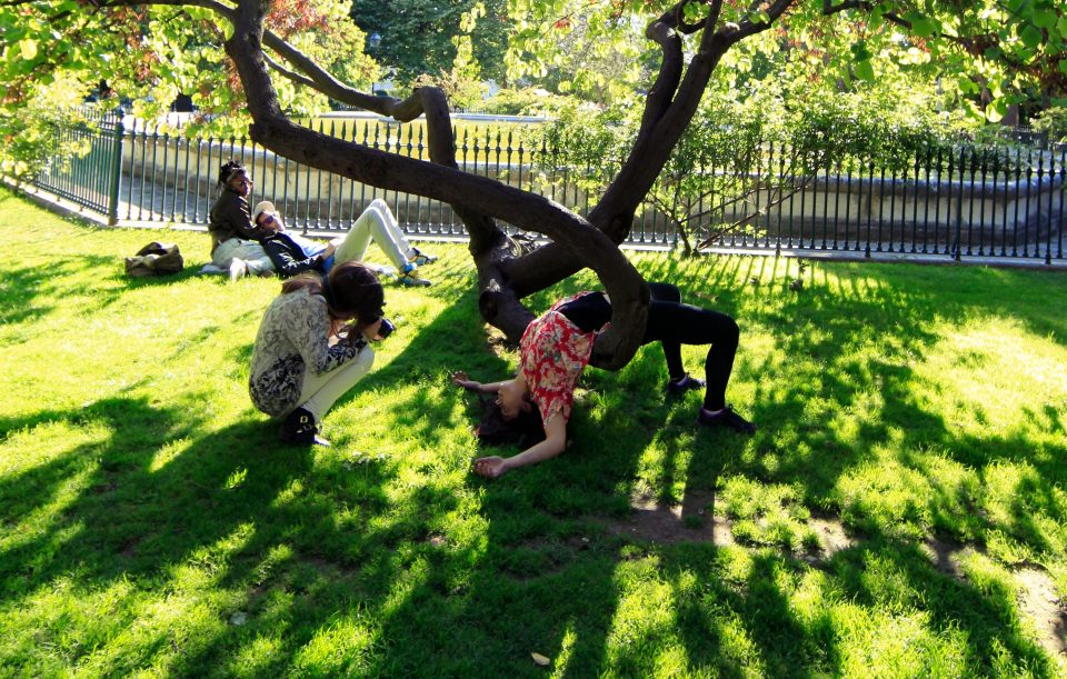 02. yoga in the garden
