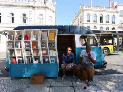 books on wheels